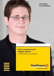Fate la conoscenza di Stephan Bucher – I collaboratori raccontano