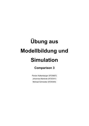 Übung aus Modellbildung und Simulation Comparison 3 - Eurecom