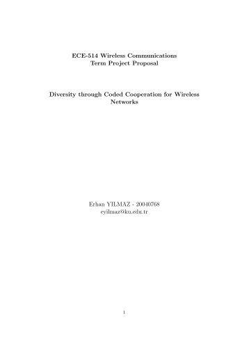 Final Report - Eurecom