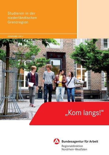 Studieren in der niederländischen Grenzregion - Bundesagentur für ...