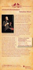 Fresche Keller – Programm für die Spielzeit 2013/14 - Page 5