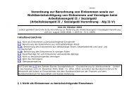Arbeitslosengeld II / Sozialgeld-Verordnung - Alg II-V - Eureka24.de