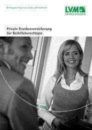 Private Krankenversicherung für Beihilfeberechtigte - Eureka24.de