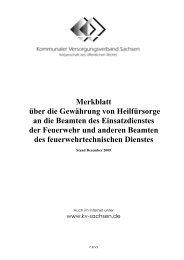 Merkblatt über die Gewährung von Heilfürsorge an ... - Eureka24.de