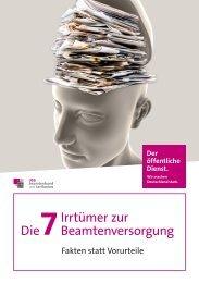 7 Irrtümern der Beamtenpension - Eureka24.de