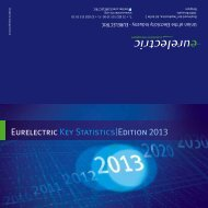 EURELECTRIC key statistics - 2013 Edition