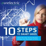 10 Steps to Smart Grids - EURELECTRIC DSOs' Ten