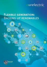 Flexible Generation: Backing up Renewables (October ... - Eurelectric
