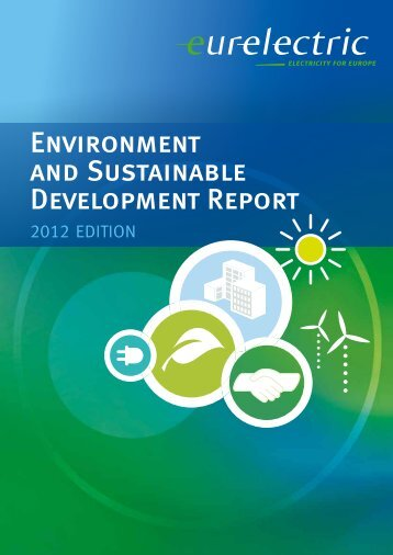 Environment and Sustainable Development Report - Eurelectric