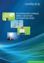 Decentralised Storage: Impact on future distribution grids - Eurelectric