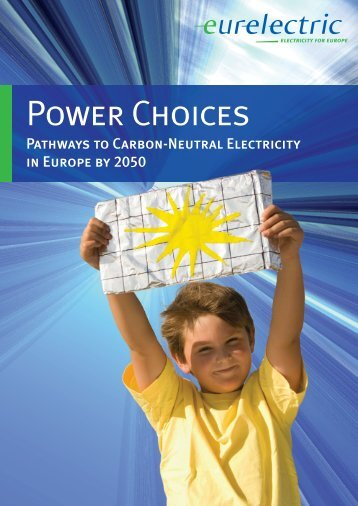 Power Choices study - Eurelectric