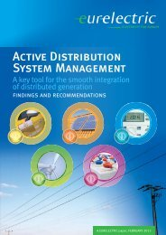 Active Distribution System Management - A Key Tool for - Eurelectric