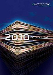 EURELECTRIC Annual Activity Report 2010