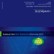EURELECTRIC Key Statistics - 2011 Edition