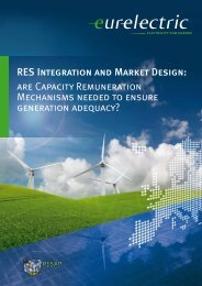 RES Integration and Market Design: are Capacity ... - Eurelectric