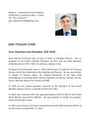 Jean-François Cirelli - Eurelectric