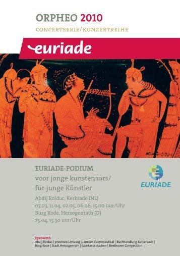 orpheo 2010 - Euriade
