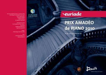 Prix Amadeo de piano 2010_A5 - Euriade