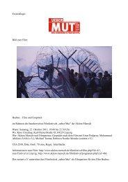"""ueber Mut"" der Aktion M - eurient eV"