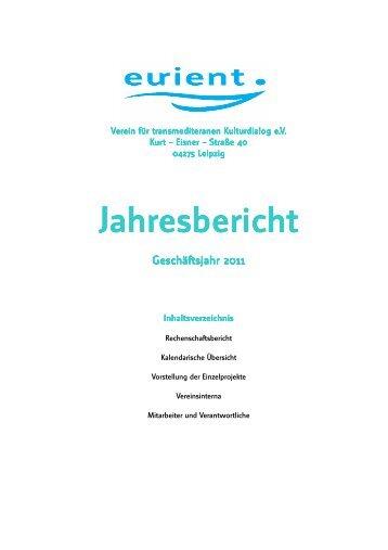 Jahresbericht Jahresbericht - eurient eV