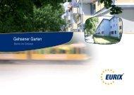 Gehsener Garten - EURIX