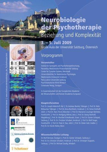 Neurobiologie der Psychotherapie – Beziehung und Komplexität