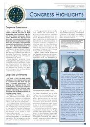 Congress Highlights Ausgabe 3 / Juli 2002 - Europäische Akademie ...
