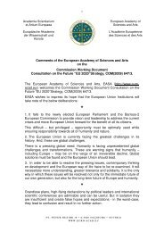 PDF download: Comments on the Commission Working Document ...