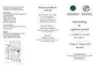 PDF download: Flyer - Europäische Akademie der Wissenschaften ...