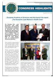 congress highlights congress highlights - Europäische Akademie ...