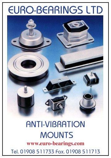Anti Vibration (pdf) - Euro Bearings Ltd