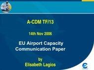 EU Airport Capacity Communication Paper