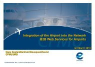 B2B Web Services for Airports