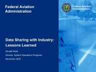 Lessons Learned - Airport Collaborative Decision Making