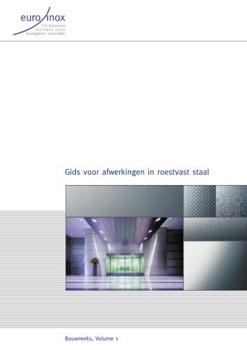 PDF: Gids voor afwerkingen in roestvast staal - Euro Inox