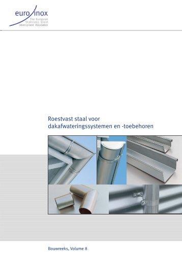 Roestvast staal voor dakafwateringssystemen en ... - Euro Inox