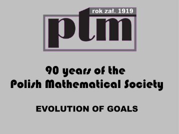 PDF 5,1 MB - The European Mathematical Society