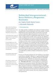 Solidaridad Intergeneracional - European Centre for Social Welfare ...