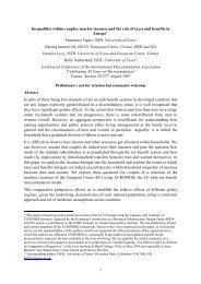 Paper - European Centre for Social Welfare Policy and Research