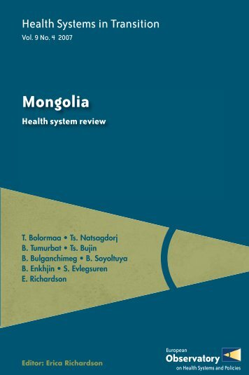 Mongolia - World Health Organization Regional Office for Europe