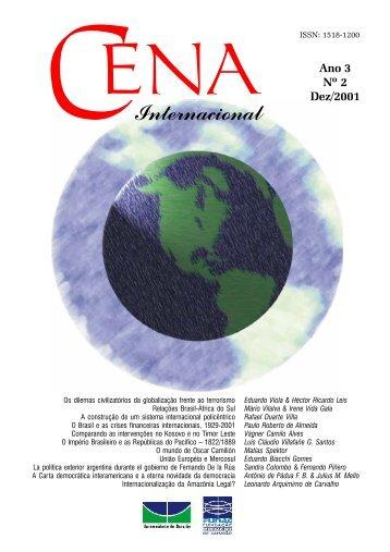 Revista Cena Internacional