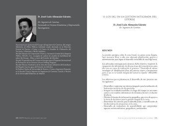 11. LOS SIG, EN LA GESTIóN INTEGRADA DEL ... - Asesmar
