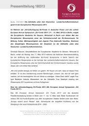 Pressemitteilung als pdf - Europäische Akademie für Steuern ...