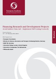 Financing Research and Development Projects