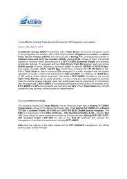 euroAtlantic airways Triple Seven hits records of Portuguese civil ...