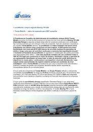euroAtlantic compra segundo Boeing 757-200 Tomáz Metello