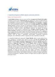 companhia portuguesa euroAtlantic exporta cruzeiro aéreo milionário