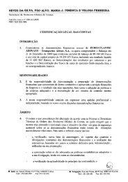 CERTIFICAÇÃO LEGAL DAS CONTAS - Euro Atlantic Airways