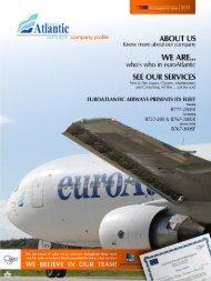 CARGO CAPABILITIES Main Deck - Euro Atlantic Airways