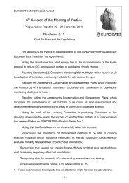 MoP6.Res.11 - Eurobats